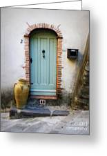 Provence Door Number 2 Greeting Card