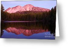 Purple Reflections Greeting Card
