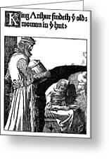 Pyle King Arthur Greeting Card