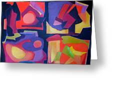 Quartet Greeting Card by Diane Fine