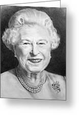 Queen Elizabeth Greeting Card