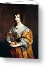 Queen Henrietta Maria Greeting Card