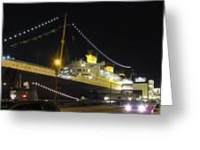 Queen Mary - 12122 Greeting Card