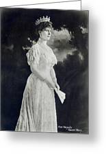 Queen Mary (1867-1953) Greeting Card