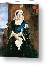 Queen Victoria Of England (1819-1901) Greeting Card