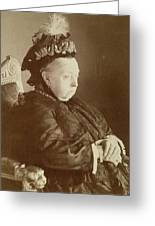 Queen Victoria Of England Greeting Card
