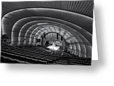 Radio City Music Hall Theatre Greeting Card