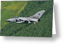 Raf Tornado - Low Level Greeting Card