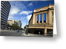 Railway Station Adelaide Greeting Card
