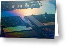 Rainbow Earth 3. Somewhere Over Netherlands Greeting Card