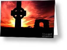 Rathkieran Sunset Greeting Card