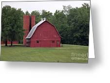 barn in Kentucky no 9 Greeting Card