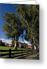 Red Barn Stanford University Greeting Card