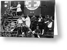 Red Cross, C1918 Greeting Card