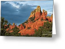 Red Hills 4 Greeting Card