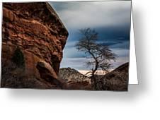 Red Rocks 2 Greeting Card