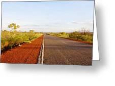 Red Soil Greeting Card