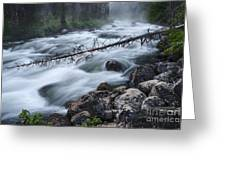 Redfish Creek In Stanley Idaho Greeting Card