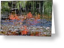Reflecting Fall Greeting Card