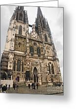 Regensburg Cathedral Greeting Card