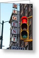 Regent Hotel Greeting Card