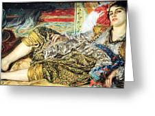 Renoir's Odalisque Greeting Card