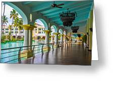 Resort In Dominican Republic Greeting Card