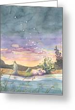 Rest On The Horizon Greeting Card