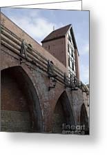 Riga Old City Walls Greeting Card