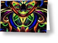 Rings Of Illumination #2 Greeting Card