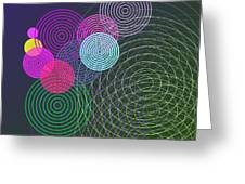 Ripple Effect Greeting Card