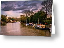 River Medway Greeting Card