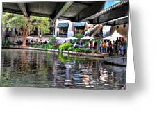 Riverwalk Greeting Card
