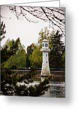 Roath Park Lighthouse Greeting Card