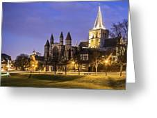 Rochester Cathedral Greeting Card