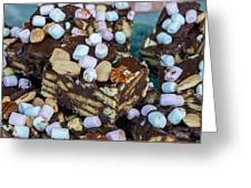 Rocky Road Slices  Greeting Card
