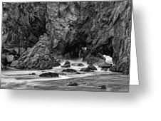 Rocky Surf 2 Greeting Card