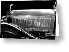 Rolls Royce Silver Ghost 1909 Greeting Card