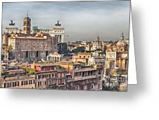 Rome Cityscape Greeting Card