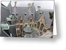 Roof Of Biltmore Estate Greeting Card