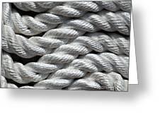 Rope Pattern Greeting Card