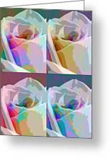 Rose Four Greeting Card