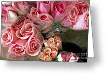 Roses For Sale Greeting Card