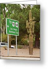 Route 66 - Kingman Arizona Greeting Card