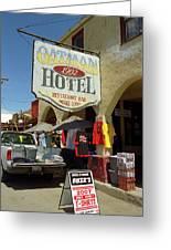 Route 66 - Oatman Arizona Greeting Card