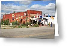 Route 66 - Sandhills Curiosity Shop Greeting Card