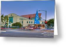 Roy E. Disney Animation Building In Burbank Ca. Greeting Card