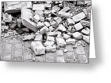 Rubble Greeting Card
