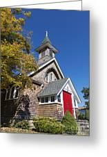 Rural Church Greeting Card