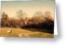 Rural England Greeting Card